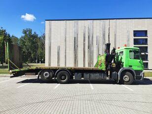 MERCEDES-BENZ  Actros 2536,Fassi 170A.22 Funk,Seilwinde Funk  tow truck